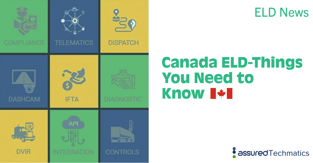 Canada ELD- Things you need to know