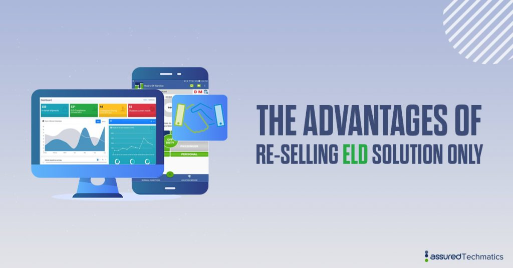 Re-selling ELD solution