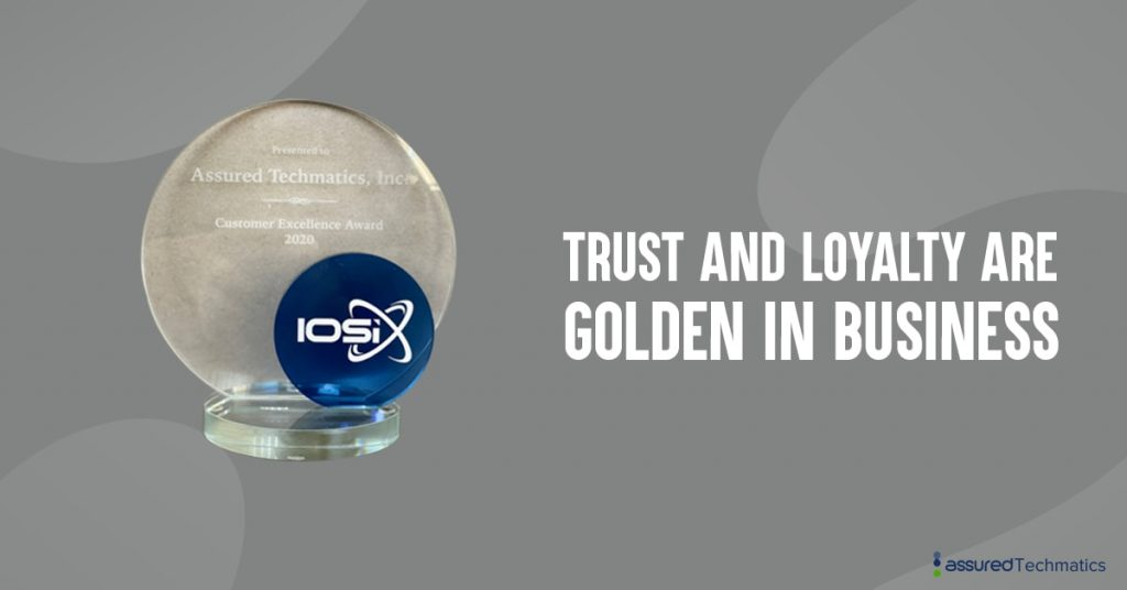 IOSiX Customer Excellence Award
